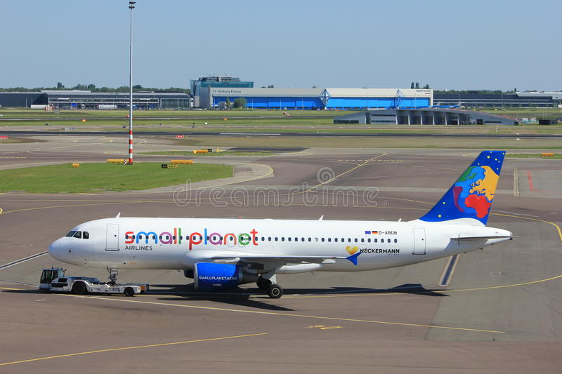 Amsterdam The Netherlands - May 26th 2017: D-ABDB Small ...