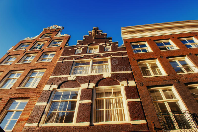Amsterdam - Netherlands .Vulytsya in the historic center. Amsterdam - Netherlands. Vulytsya in the historic center of Amsterdam. Amsterdam is the capital and stock photo