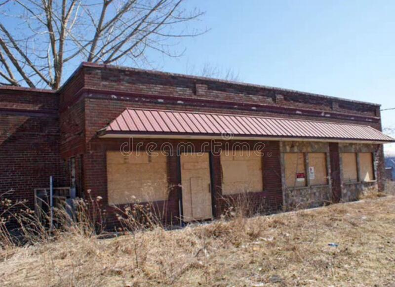 Amsterdam New York Ghost Town Free Public Domain Cc0 Image
