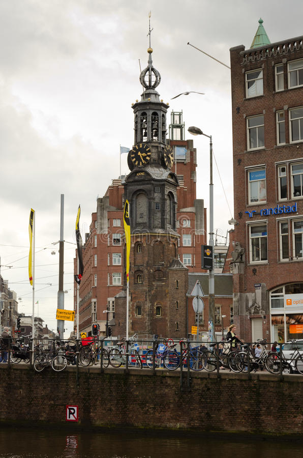 Download Amsterdam editorial stock photo. Image of casual, european - 34765173