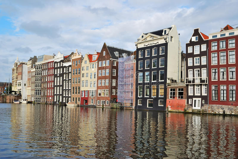 Amsterdam. Old Quarter royalty free stock photography