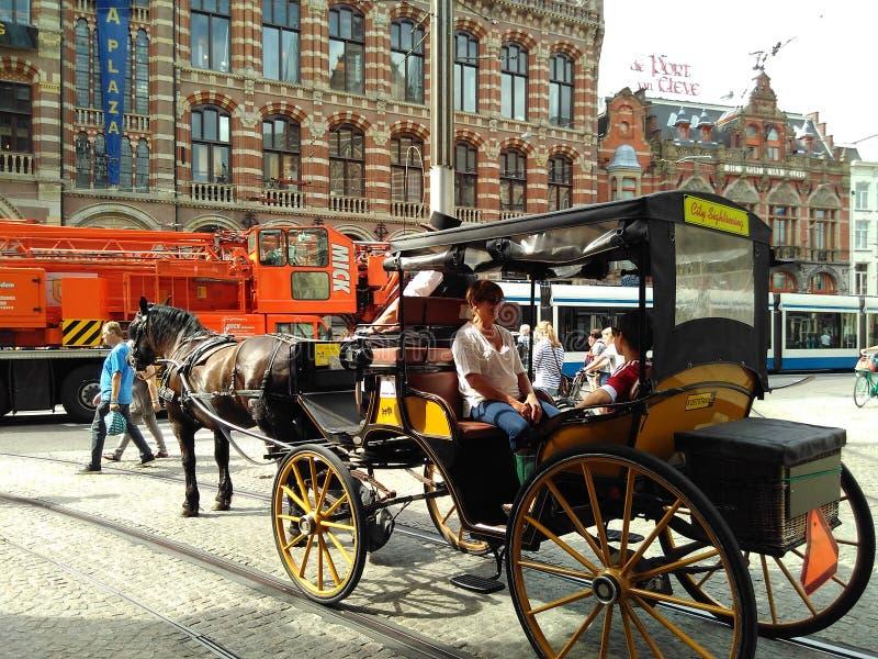 Amsterdam oldfashion obrazy royalty free