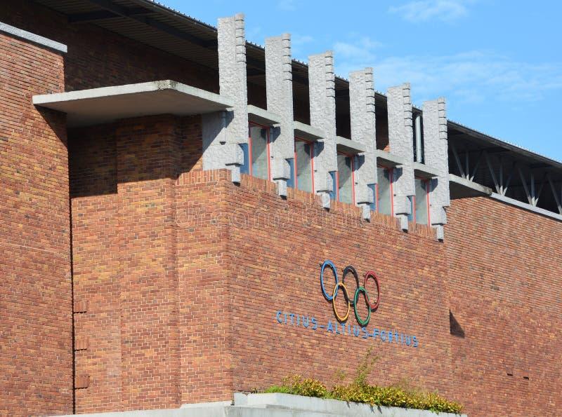 Amsterdam Olympic stadium stock photo