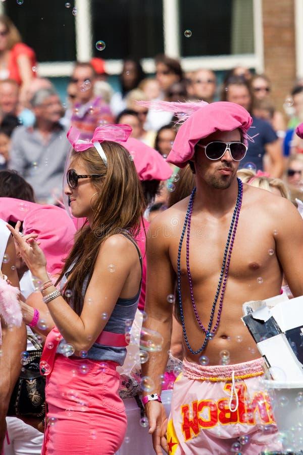 Amsterdam. Orgoglio gaio 2009 immagine stock libera da diritti