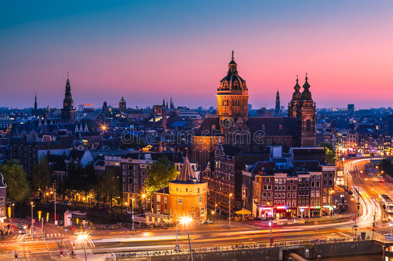 Amsterdam, Pays Bas photo stock