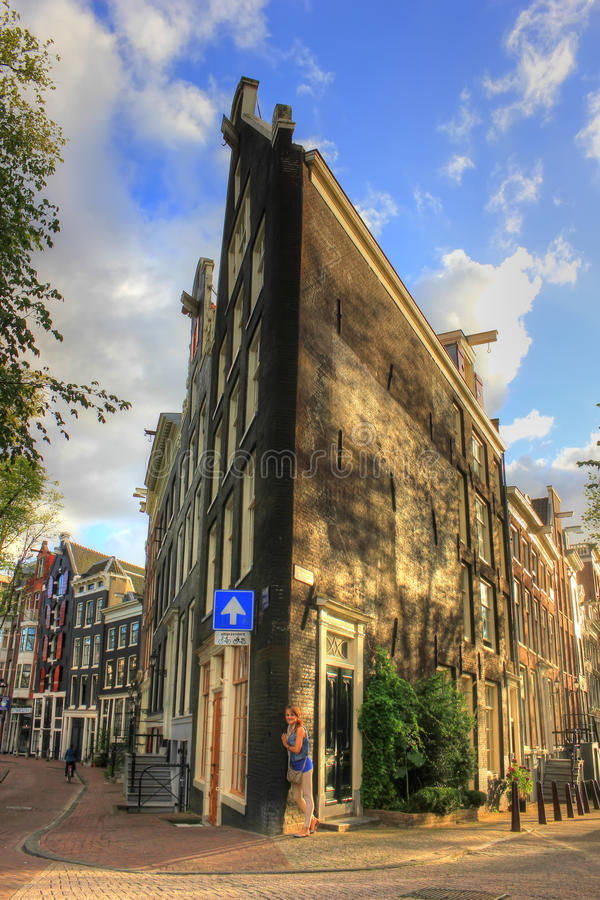Amsterdam, Pays-Bas, l'Europe photo libre de droits