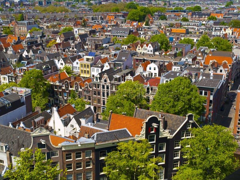 Amsterdam piena di sole fotografie stock