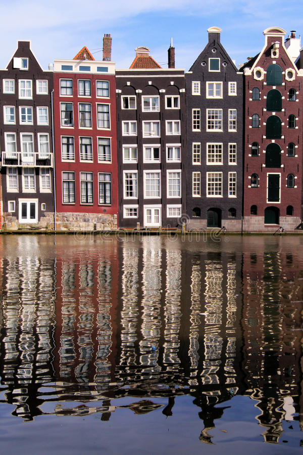 Amsterdam Reflections Royalty Free Stock Image