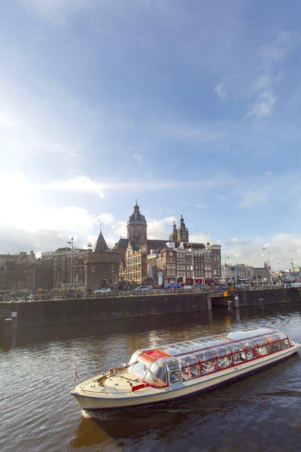 Amsterdam rejs obrazy royalty free