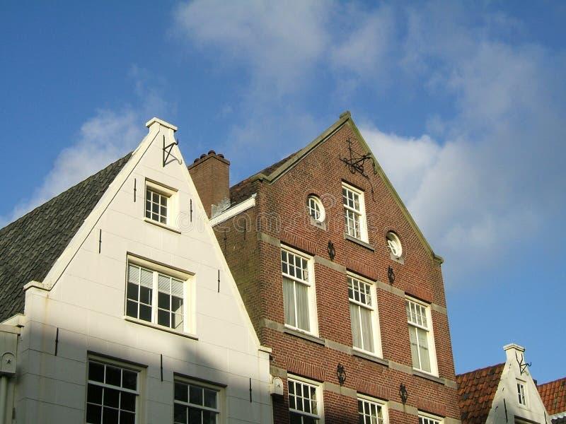 Amsterdam renferme la façade photos stock