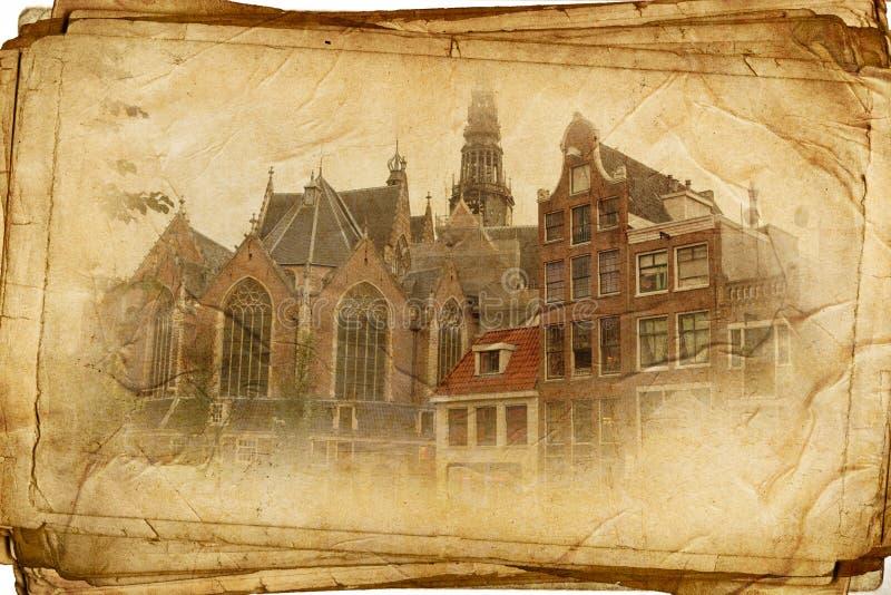 Amsterdam retra fotos de archivo