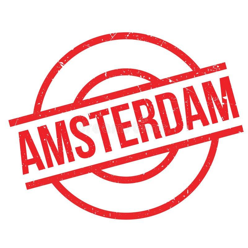 Amsterdam rubber stamp vector illustration