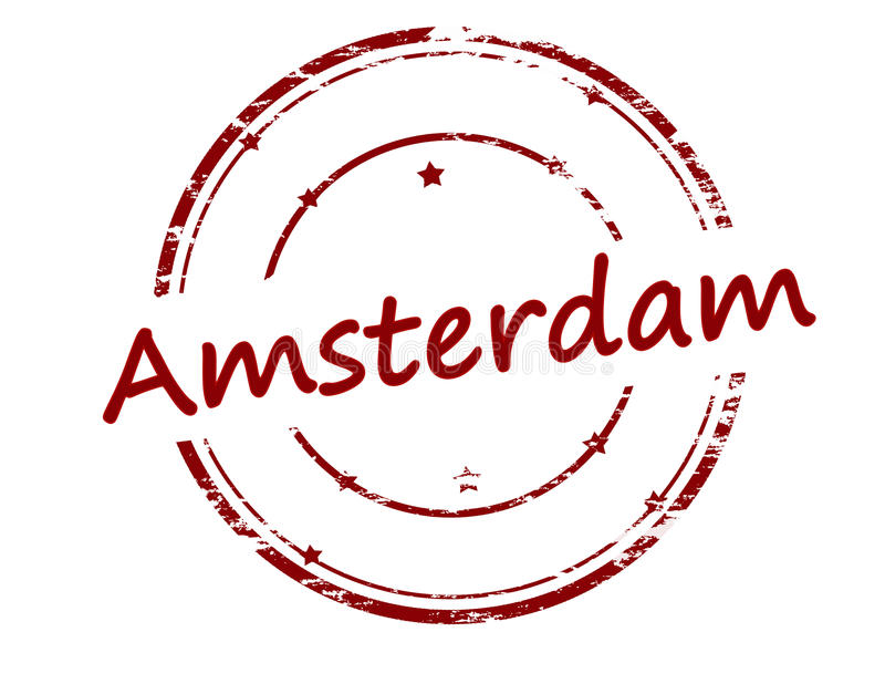 Amsterdam stock illustration