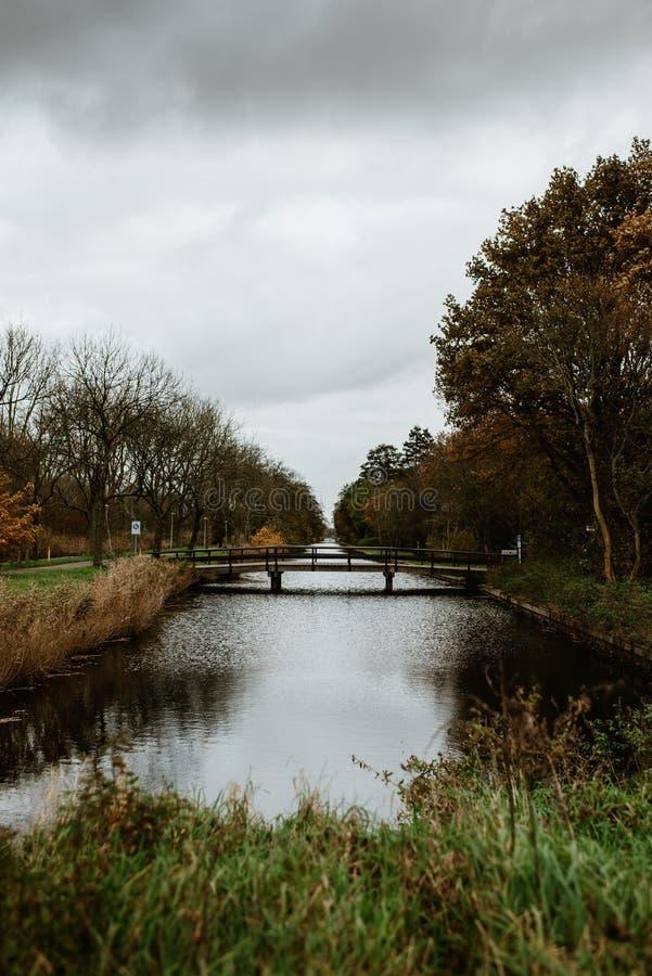 Amsterdam rzeka zdjęcia royalty free