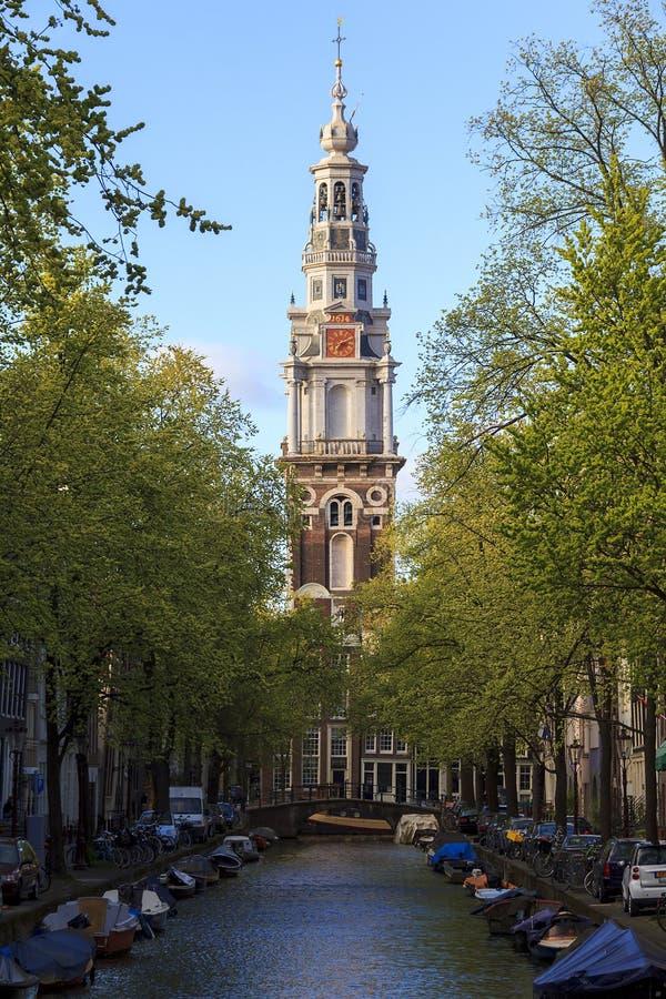 Amsterdam' s-söderkyrka fotografering för bildbyråer