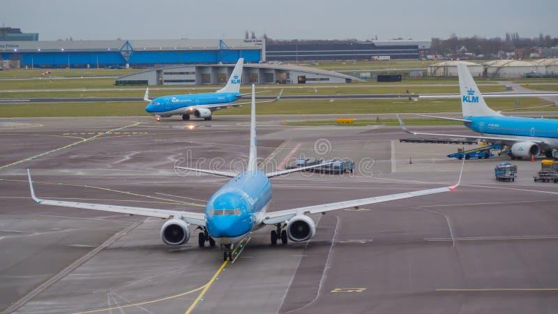 Amsterdam Schiphol flygplats E royaltyfri bild