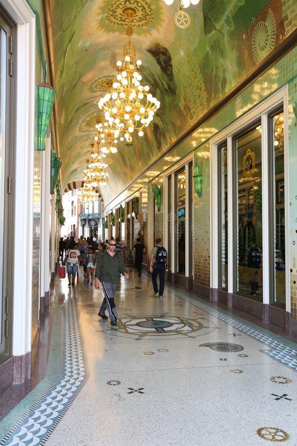 Amsterdam shopping royalty free stock image
