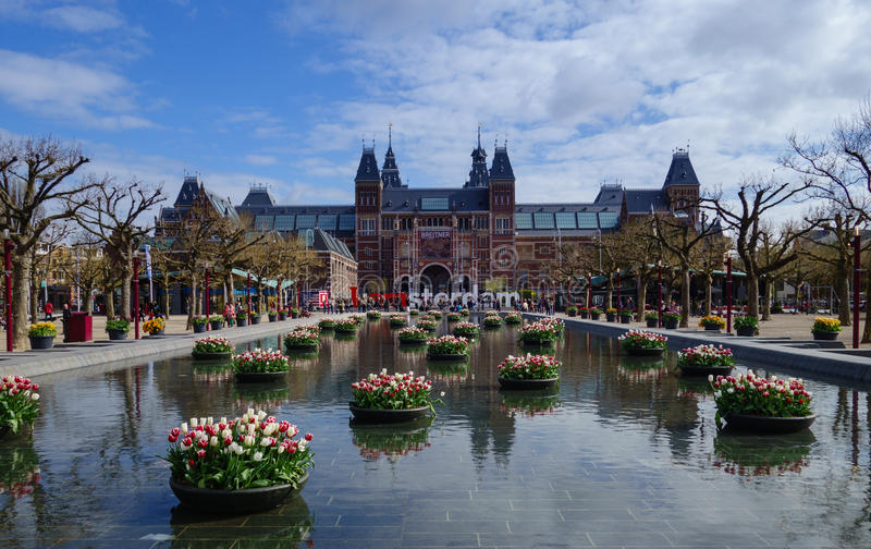 Amsterdam sketch royalty free stock images