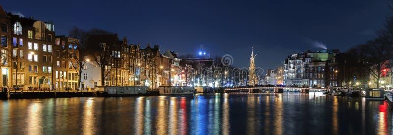 Amsterdam-Skyline stockfotos