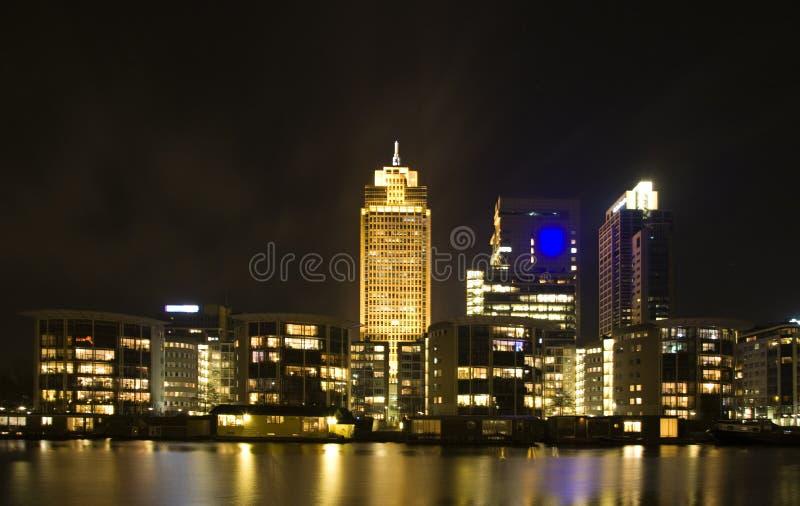 Amsterdam-Skyline lizenzfreie stockfotografie