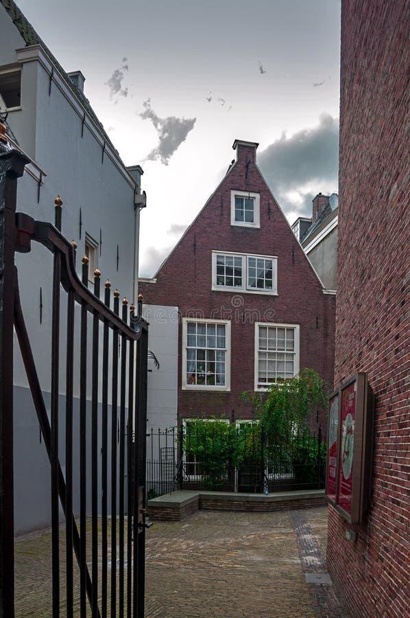 Amsterdam-Straßen und -kanäle stockfoto
