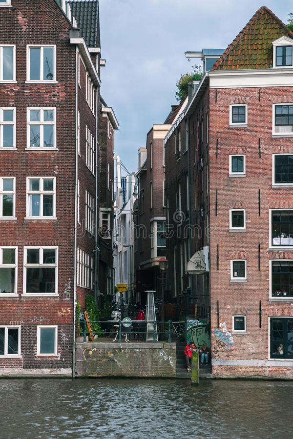 Free Amsterdam Streets And Canals. Stock Photography - 134874302