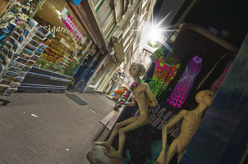 Amsterdam Streets stock photo