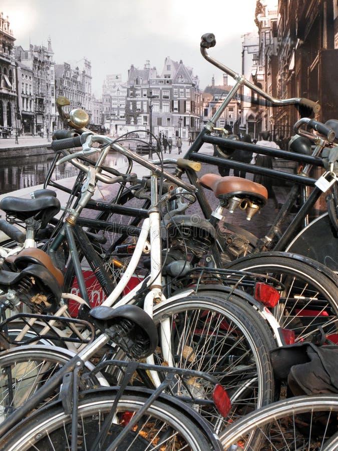 amsterdam tappning arkivbild