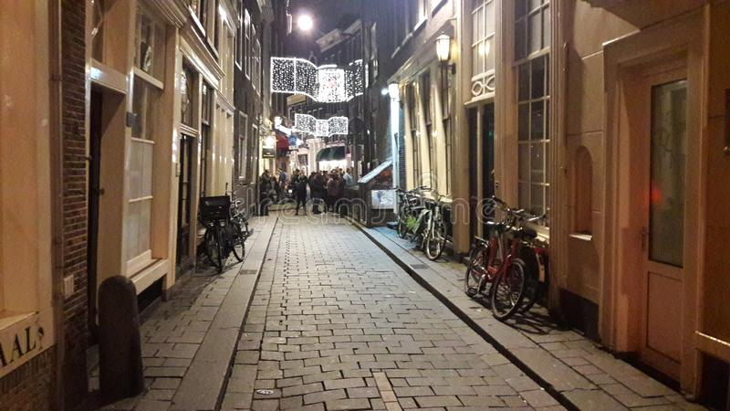 Old street antique clasic amsterdam travel royalty free stock photos