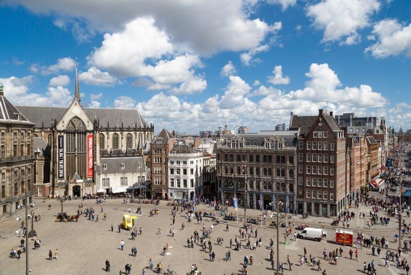 Amsterdam-Verdammungs-Quadrat lizenzfreie stockfotos