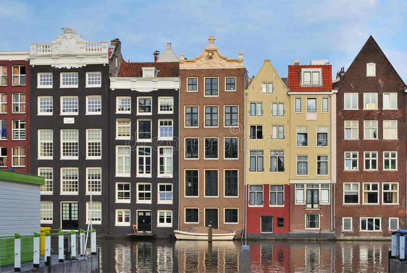 Amsterdam. Viejo cuarto fotos de archivo libres de regalías