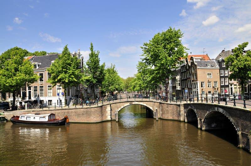 Amsterdam, Ville-Chanel photos stock