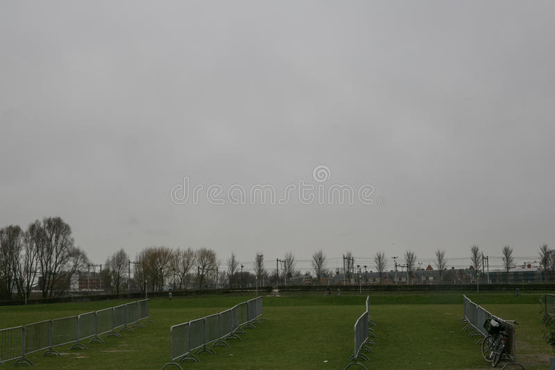 Amsterdam Westergasfabriek stock afbeelding