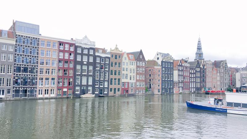 Amsterdams royaltyfria foton