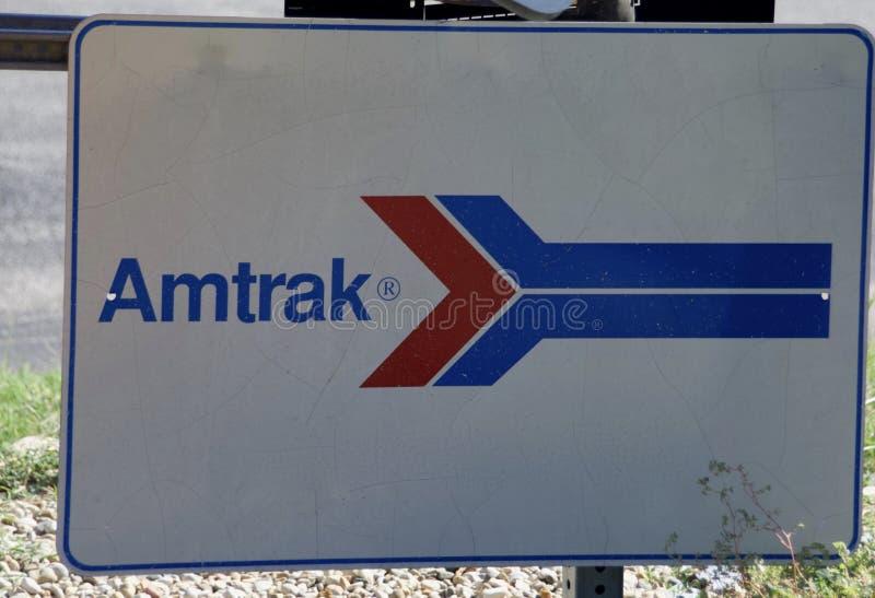 Amtrak dos Nacional Estrada de ferro Passageiro Corporaçõ imagens de stock
