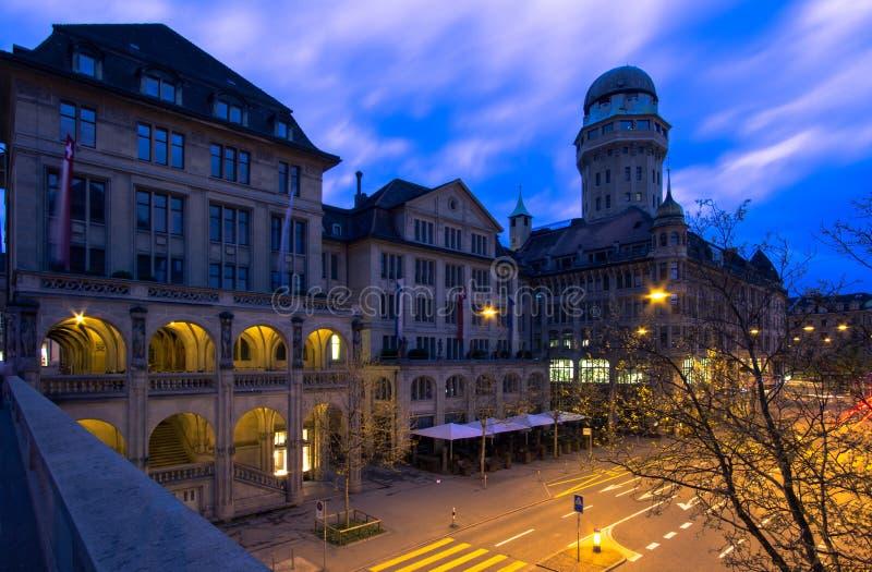 Amtshaus a Zurigo, Svizzera fotografia stock libera da diritti
