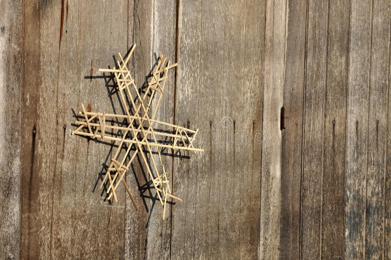 Download Amulet Door Wood Bamboo Weave Stock Photo - Image: 26473774