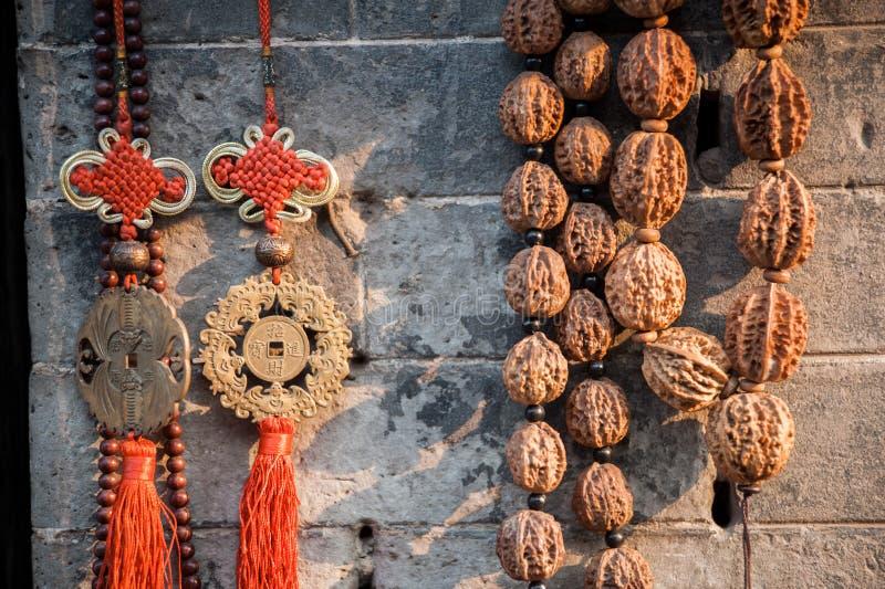 Amulett för traditionell kines arkivbild