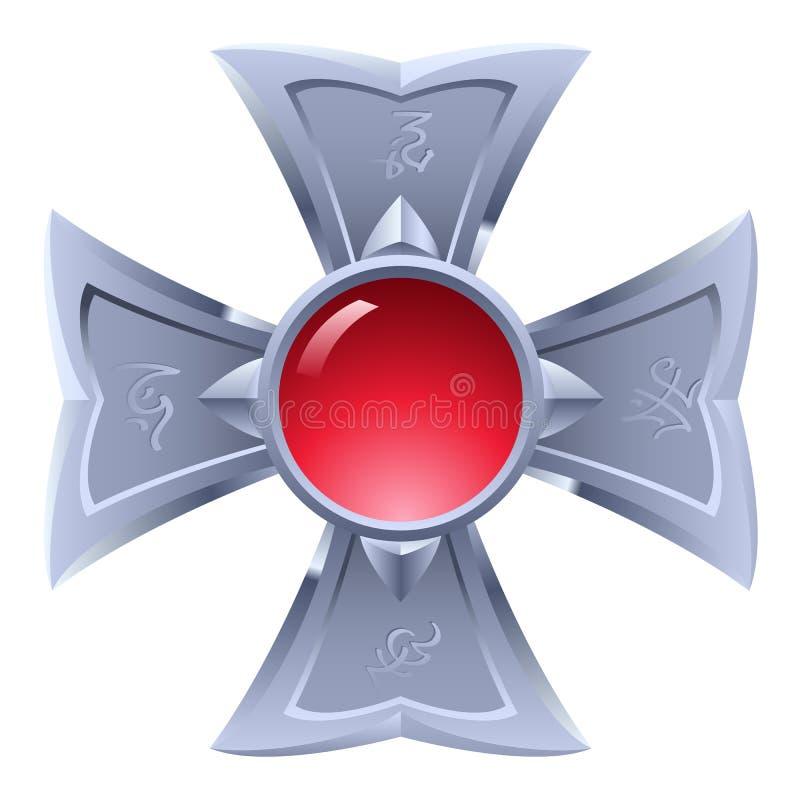 Amulette. illustration libre de droits