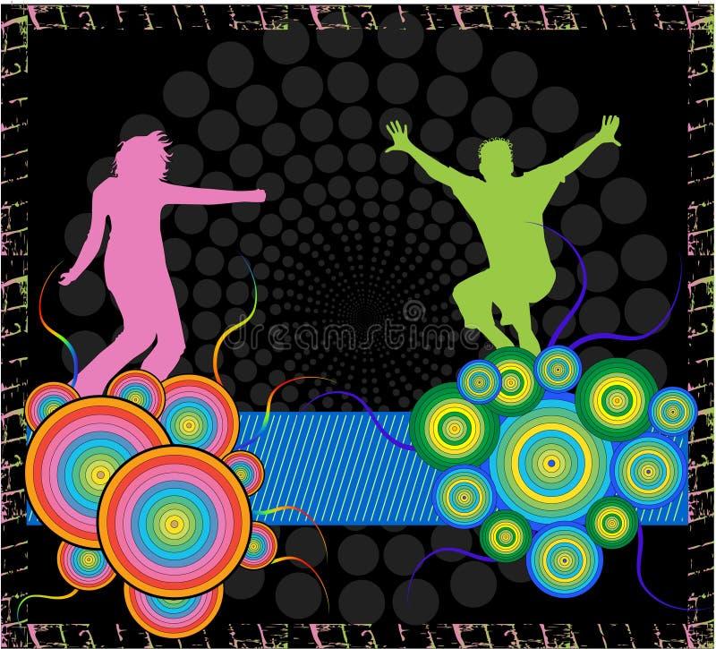 Amusement abstrait illustration stock