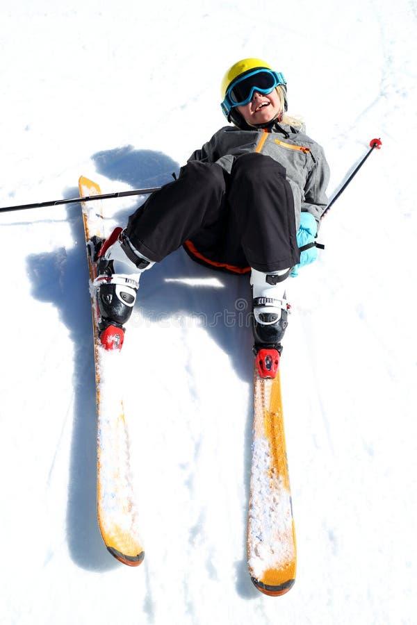 Amusement au sport d'hiver images stock