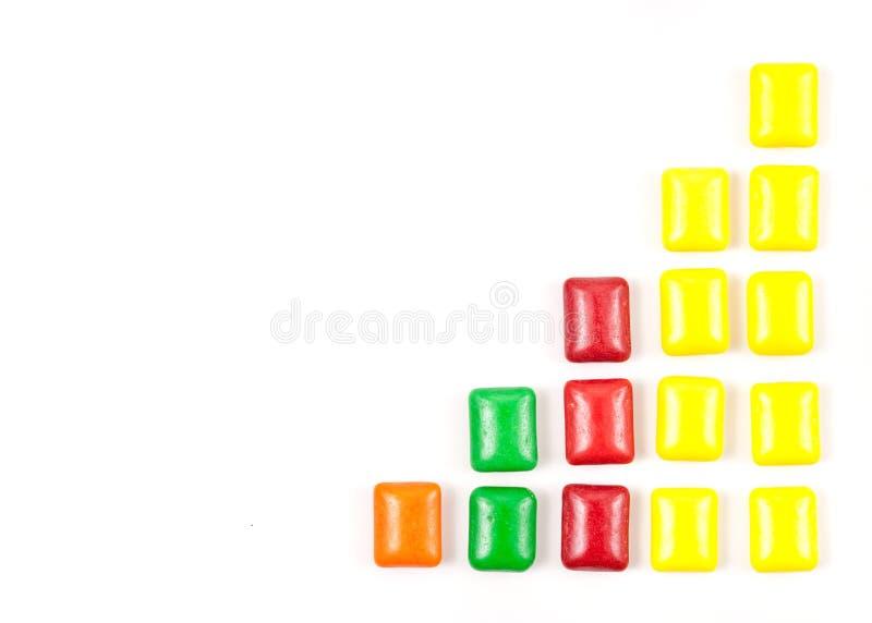 Amusement avec le chewing-gum photographie stock