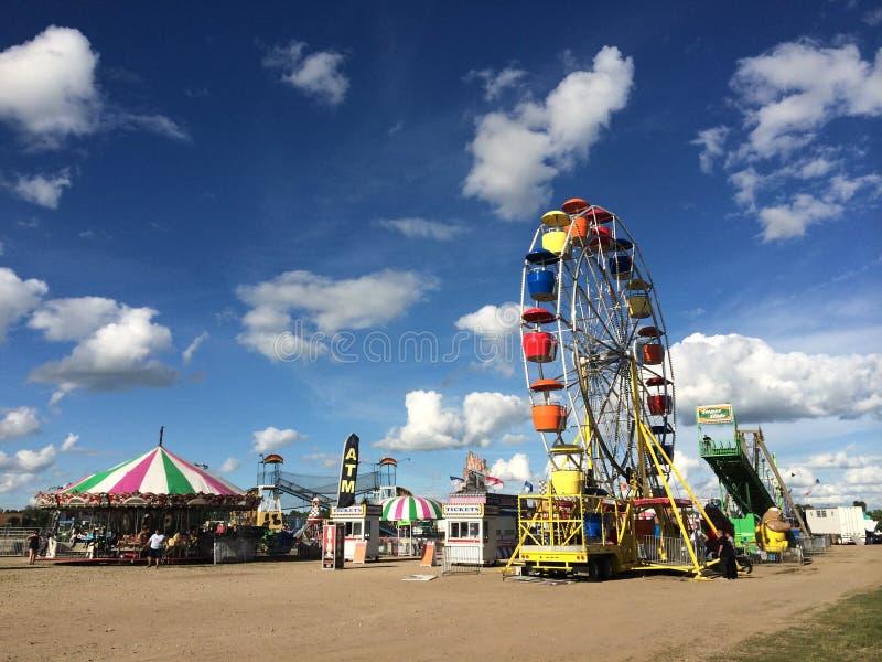 Amusement carnival stock images