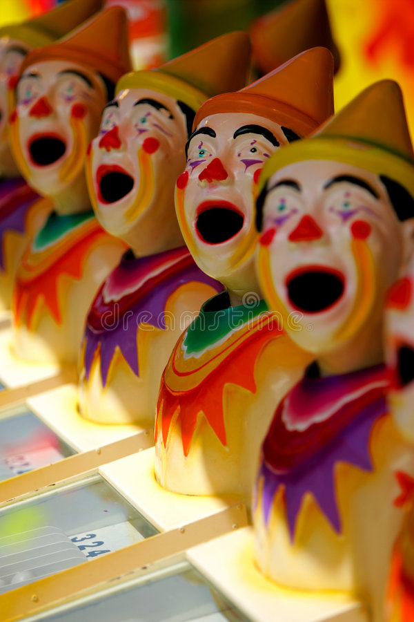 Amusement Clowns royalty free stock photos