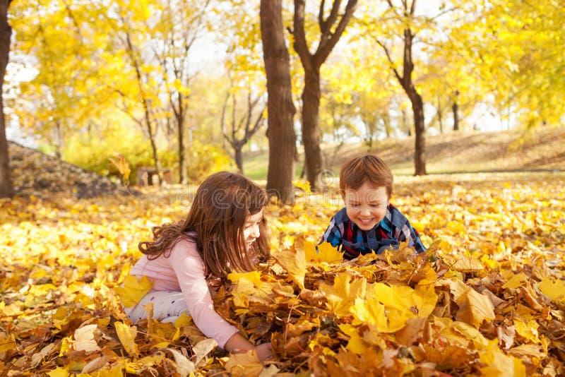 Amusement d'automne photo stock