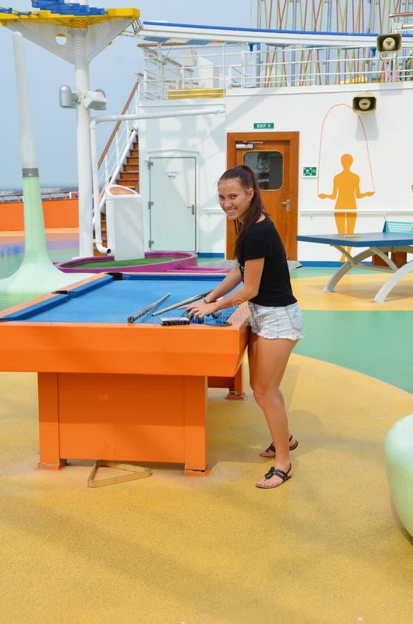 Amusement de bateau de croisière photographie stock libre de droits