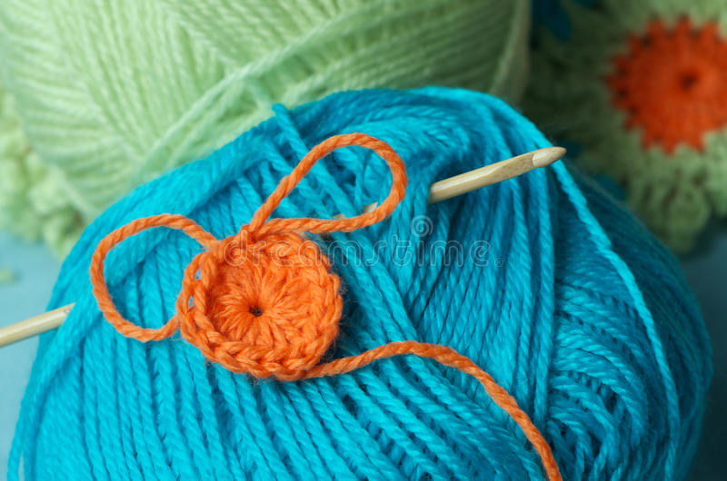 Amusement de crochet photos stock