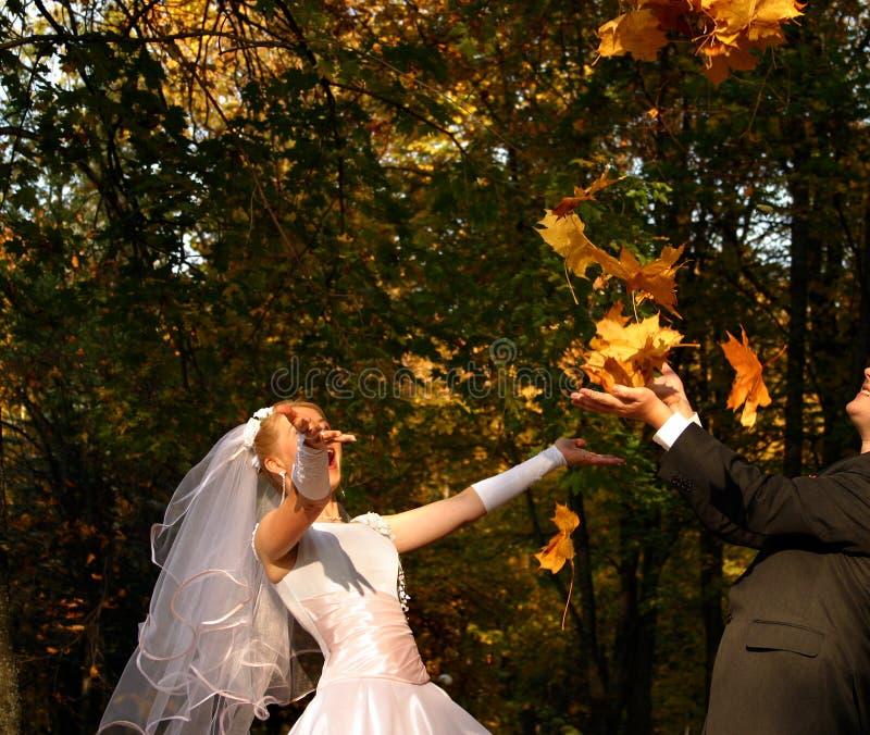 Amusement de mariage photos libres de droits