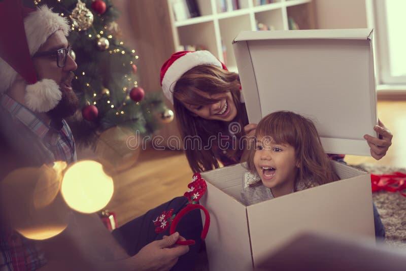 Amusement de Noël photo stock
