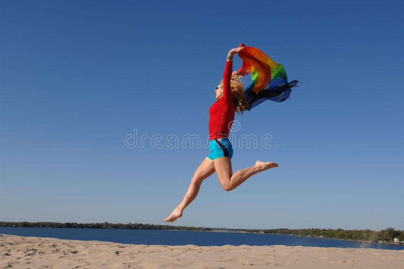 Amusement de plage photos libres de droits